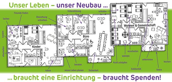 Neubau erstes Frauenhaus ab Juli 2021